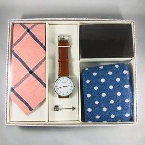 Sprezzabox Gift Set Tie Wallet Watch Socks